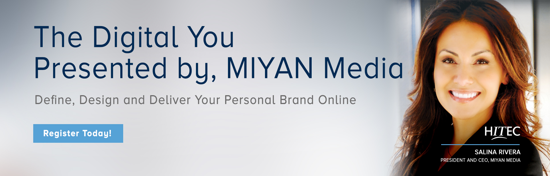Digital media marketing expert, Salina Rivera, CEO, MIYAN Media presenting the Digital You